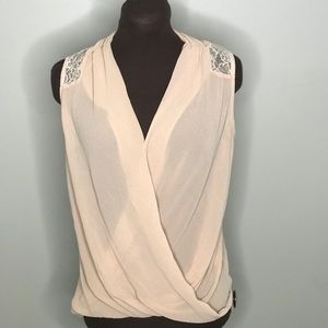 Tops - Wrap top perfect for work